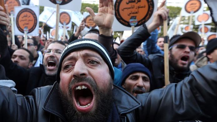 Supporters van de Hizb ut-Tahrir