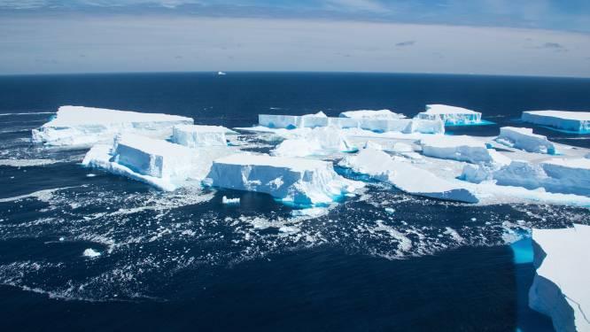 Immense ijsberg valt in stukken uit elkaar en deelt enkel schampschot uit aan Zuidpool-eiland met pinguïns. Maar het gevaar is nog niet geweken