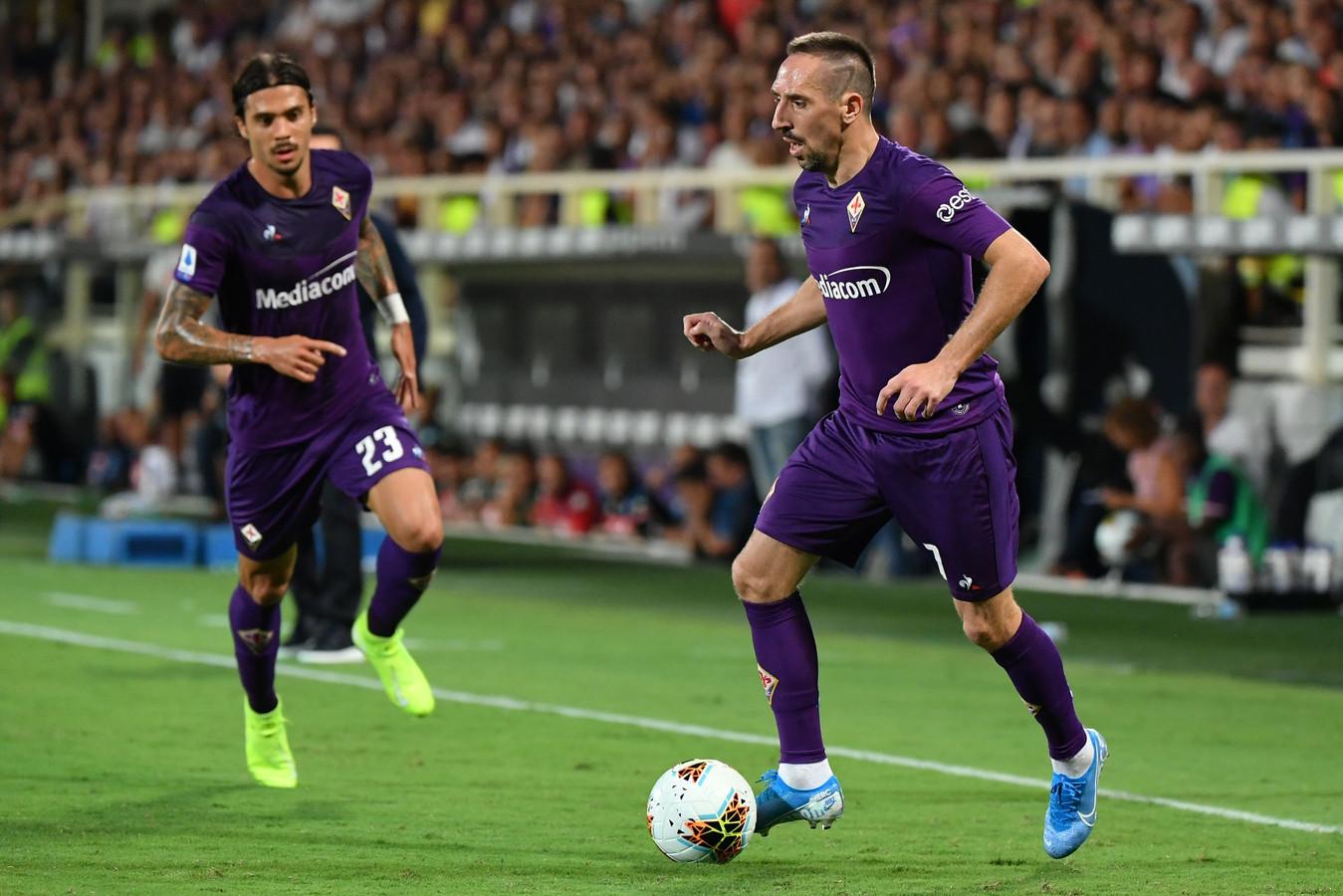 Franck Ribéry aan de bal.