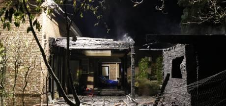 Flinke schade na brand bij woning in Mill