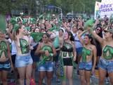 Argentijnse vrouwen protesteren voor legaliseren abortus