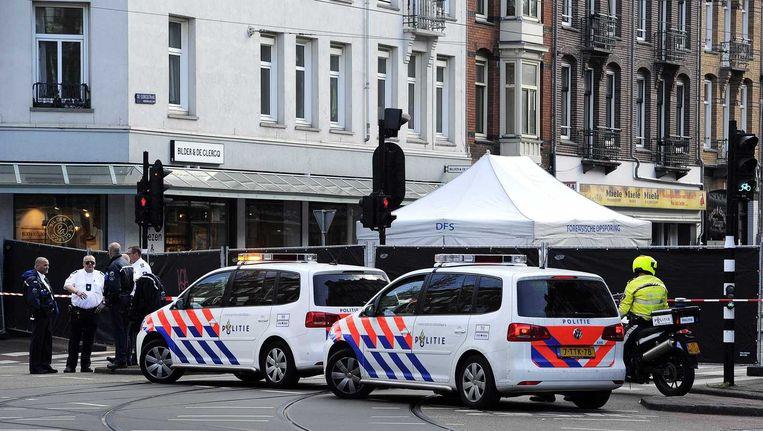 De 25-jarige Youssef el Kahtaoui uit Zaandam werd doodgeschoten voor de deur van een waterpijpcafé. Beeld ANP