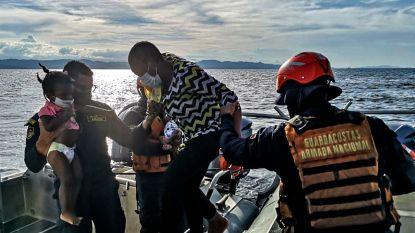 Bijna honderd Haïtiaanse bootvluchtelingen gered op zee