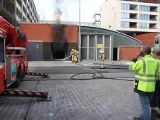 Stroomstoring door brand  Rotterdam-Zuid