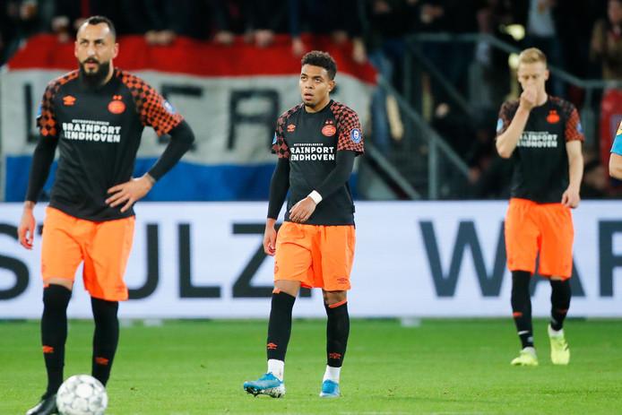 PSV ging op bezoek bij FC Utrecht hard onderuit: 3-0.