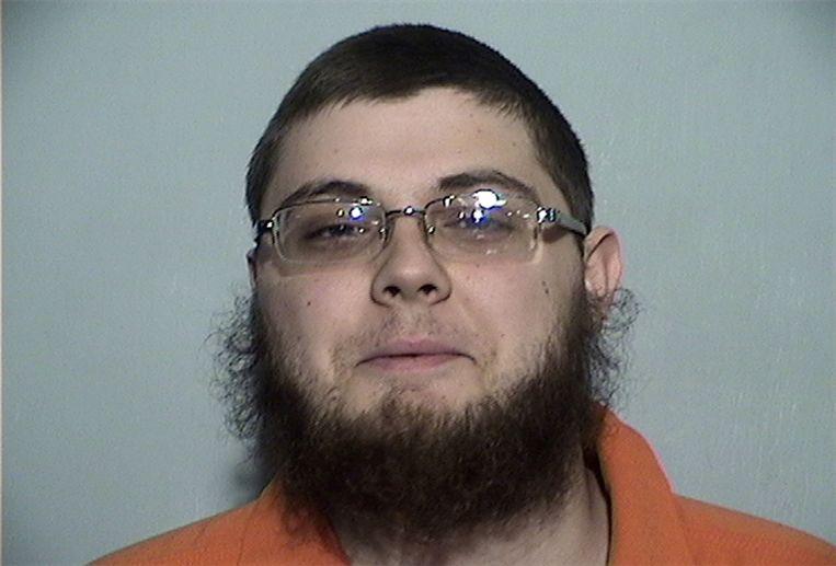 De arrestatiefoto van de 21-jarige Damon Joseph.