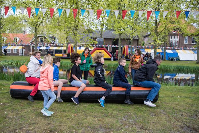 Koningsdag in Kloetinge in 2017.
