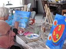 De eerste avond is het 'dikke dames schilderen' bij nieuwe workshop in Velddriel