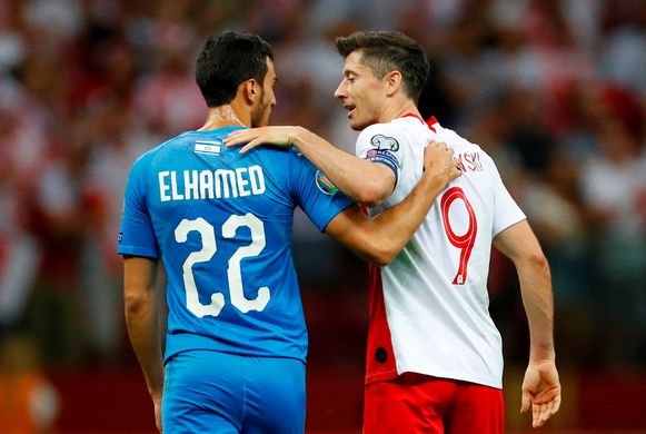 Lewandowski met Elhamed.
