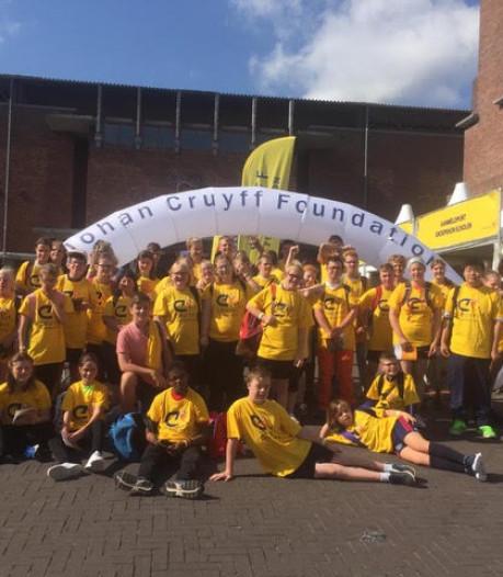 Sportieve dag dankzij Cruyff Foundation