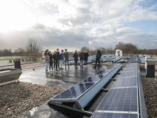 Pallas Athene College in Ede zet dak vol met zonnepanelen