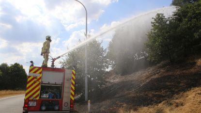 300 meter berm brandt af langs E314