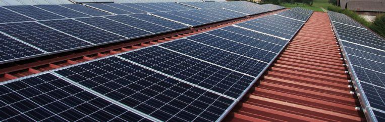 Op het dak van de OCMW-gebouwen komen zonnepanelen.