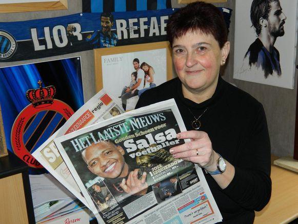 De krant van gisteren krijgt alvast een speciale plek in Martine's Clubhoekje.