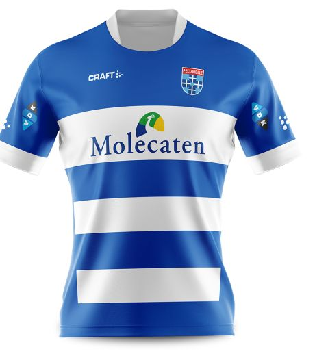 PEC Zwolle onthult nieuw thuisshirt dat stuk degelijker oogt dan het vorige