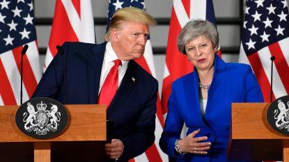 """Die handelsdeal? Dat fiksen we nog snel, Theresa"""