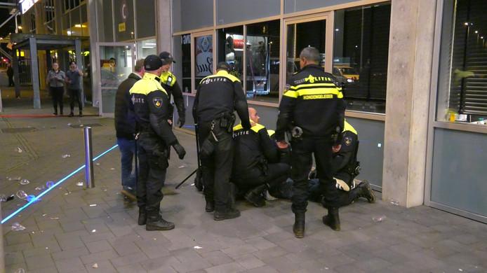 De aanhouding met verzet in Arnhem
