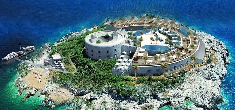 Een impressie van het toekomstige hotel.