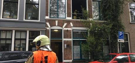 Brand in centrum Deventer