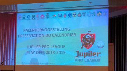 LIVESTREAM. Volg de bekendmaking van de kalender van play-offs