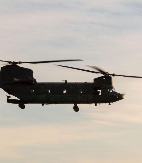 Opvallend veel helikopters boven Waalwijk: Amerikaanse brigade keert huiswaarts