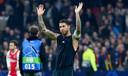 Sergio Ramos na de 1-2 zege op Ajax in Amsterdam drie weken geleden.