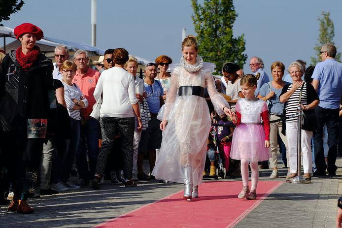 Bezoekers van de Doesburgse Kadedagen konden ook genieten van modeshows.