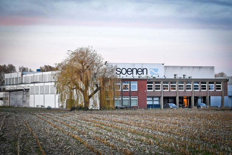 De gebouwen van het voormalige NV Soenen International.