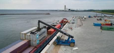 Containerhaven Lelystad herstelt 'foutje' van Lely