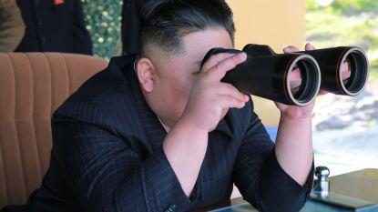 """Kim Jong-un geeft opdracht voor oefening van """"aanval op langeafstand"""""""