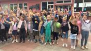 De Zonnebloem Kalken viert haar 200ste leerling met ijsjes