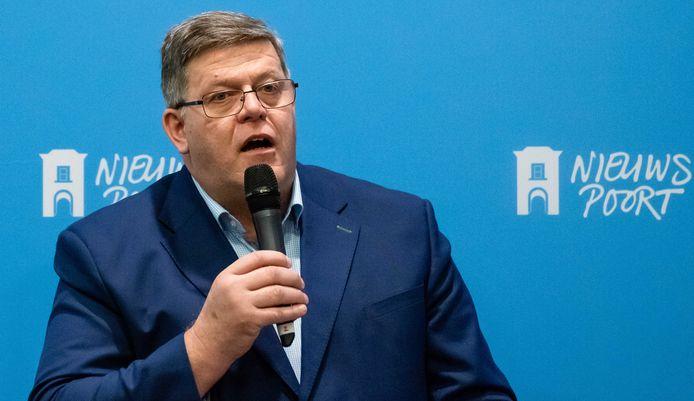 Jan Cees Vogelaar, voorzitter van het Mesdag Zuivelfonds.