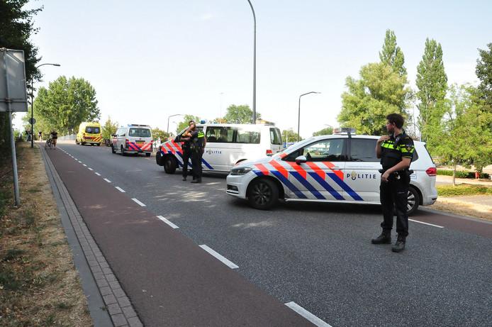 Ongeluk aan Emmikhovensestraat in Waalwijk