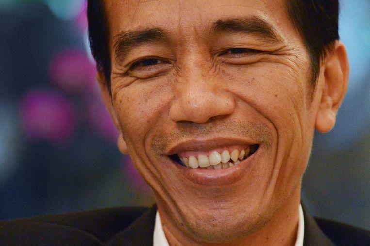 De Indonesische president Joko Widodo