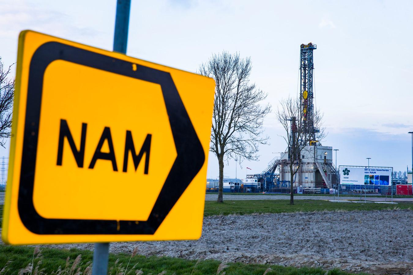 De NAM gaat, net als hier nabij 't Zandt in Groningen, ook in De Krim, Ane en Holthone verder met het winnen van gas.