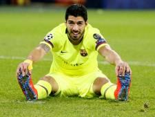 Suárez scoorde al 25 uur niet in uitwedstrijden in Champions League