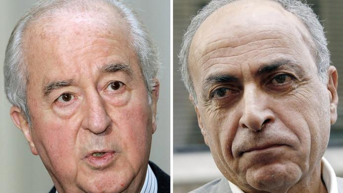 Edouard Balladur et Ziad Takieddine.