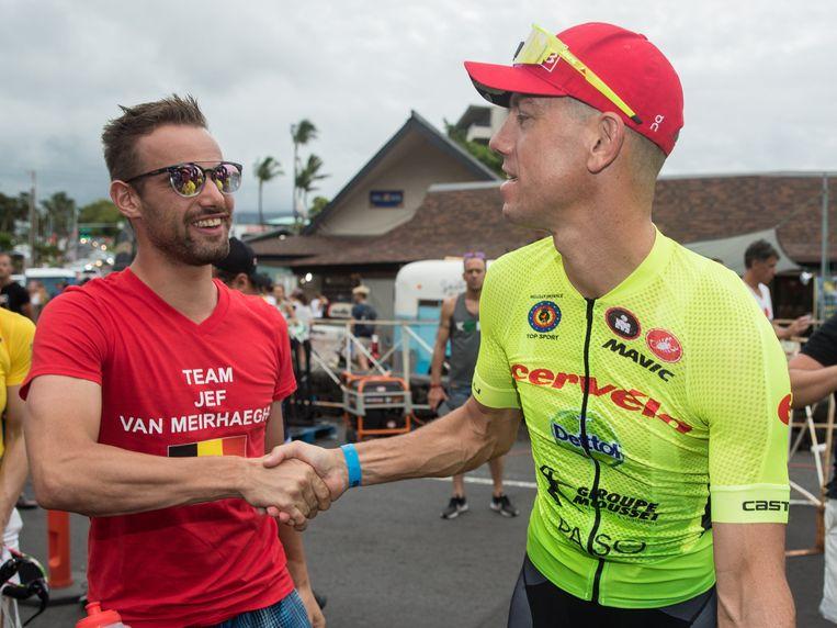 Frederik Van Lierde hier met Victor Campenaerts.