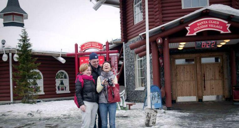 De Kerstman wordt vooral bezocht door Japanners, Russen, Duitsers en Italianen. De meeste brieven komen van Italianen: jaarlijks 110.000. Beeld Jeroen Toirkens
