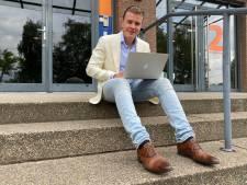 Maurits (24) start middenin coronacrisis een eigen bedrijf: 'Uitdagingen, daar hou ik van'