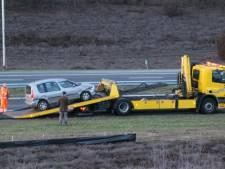 Man valt achter het stuur in slaap op A1 bij Rijssen