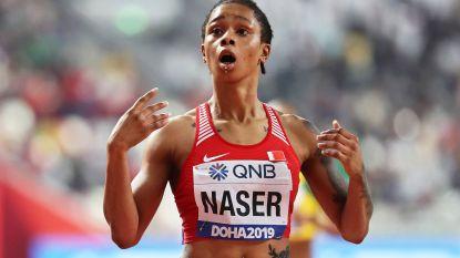 "Bahreinse wereldkampioene 400m Salwa Eid Naser schreeuwt onschuld uit: ""Ik ben geen valsspeelster"""
