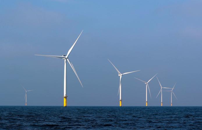 Windpark Luchterduinen, eigendom van Eneco