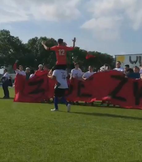 De Zwerver verslaat SV Meerkerk na zenuwslopende strafschoppenserie en is nu tweedeklasser