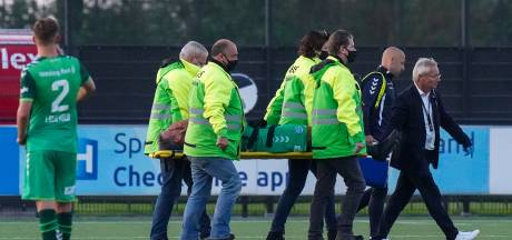 Geen enkelbreuk voor De Graafschap-spits Seuntjens; aanvoerder wel 'minimaal enkele weken' uit de roulatie