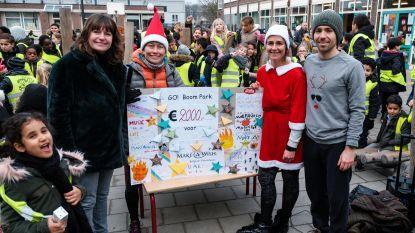 Basisschool Boom Park houdt 'Run for Life'