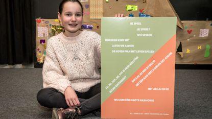 Ella (11) is nieuwe junior stadsdichter