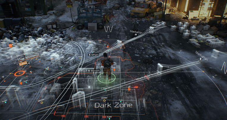 Het slagveld in kaart. Beeld Ubisoft