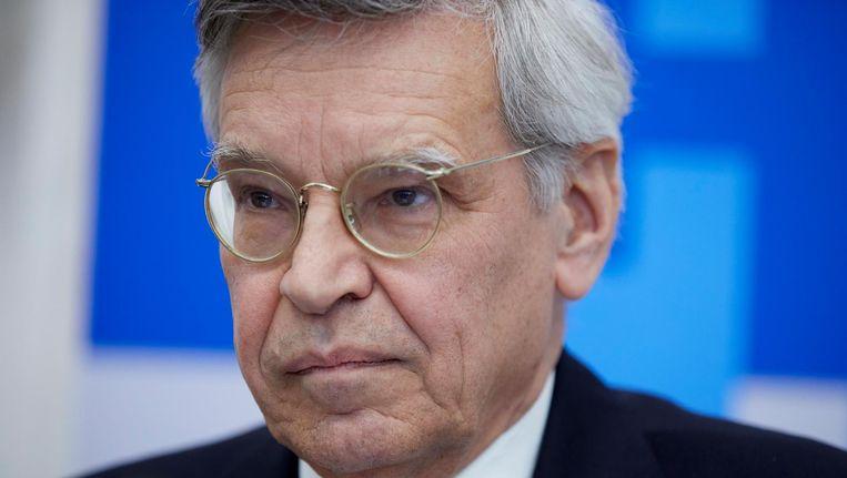 Voorzitter van de Kiesraad Jan Kees Wiebenga. Beeld anp