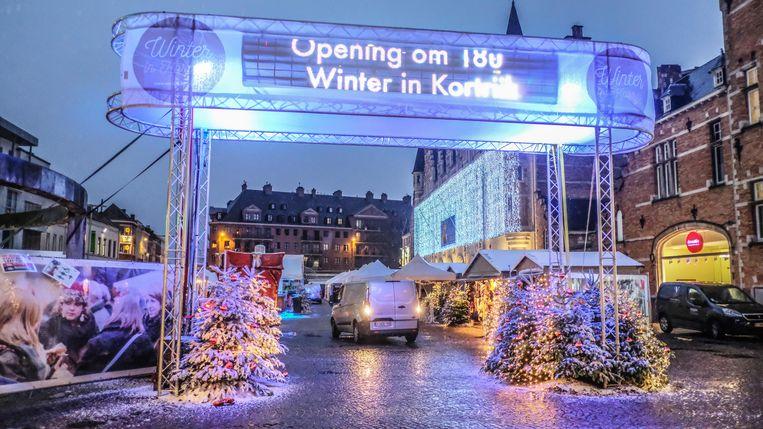 opening Winter in Kortrijk.